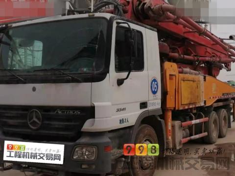转让北方精品2010年差2天三一奔驰43米泵车(方量少)
