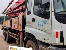 车主直售10年出厂三一五十铃37米泵车(三桥❌腿大排量)