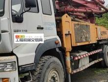 终端转让2018年响箭斯太尔37米泵车(方量极少)