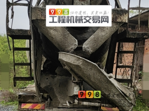 出售2013年12月东风大力神12方搅拌车(国四)