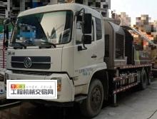 出售2019年出厂中联东风底盘10022车载泵