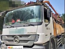 精品13年出厂徐工奔驰50米泵车(三桥K系 开式系统 6节臂)