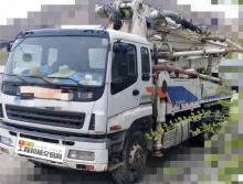 极品出售11年10出厂中联五十铃38米泵车(稀缺法务车+不到10万方+五节臂)