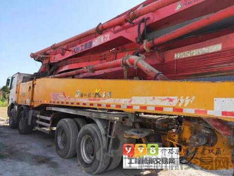 精品出售14年徐工奔驰53米泵车(K系7节臂)