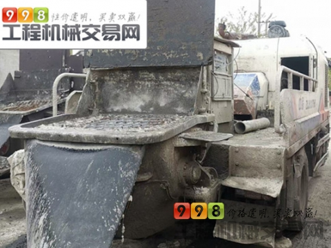 精品出售12年中联10018车载泵