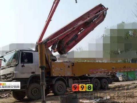 转让精品2014年徐工奔驰53米泵车(开式10万方)
