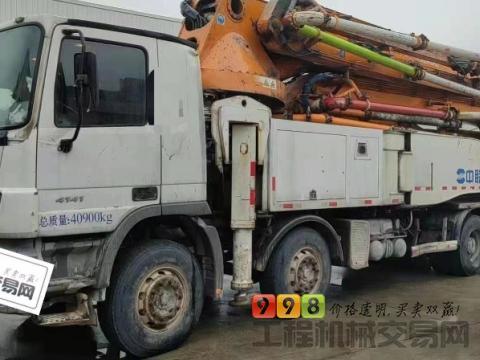 出售14年12月中联奔驰52米泵车(六节臂  大排量)