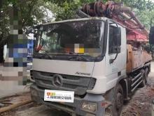 精品出售11年三一奔驰46米泵车(3桥叉腿)