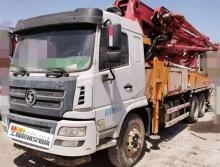 精品转让18年九合38米泵车(国五三桥 +3万方+230缸+5节臂)