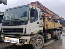 终端出售08年出厂三一五十铃37米泵车(三桥叉腿)