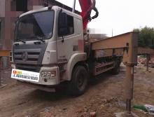 精品转让19年出厂三一37米泵车(国五  两桥  5万方 193油泵)
