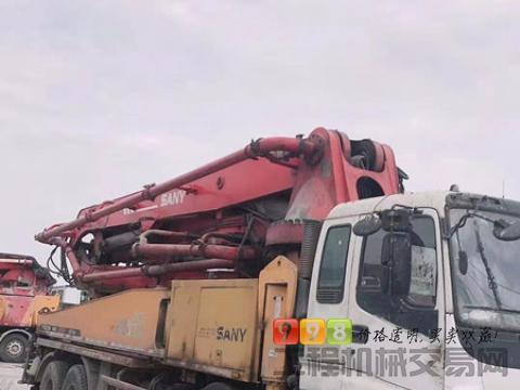 终端急售09年三一五十铃46米泵车(直接上工地)