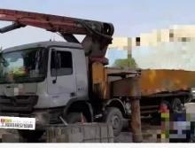 终端出售10出厂年三一奔驰56米泵车(北方车+支持工地跟车一周)