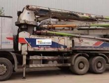 车主出售11年中联奔驰38米泵车