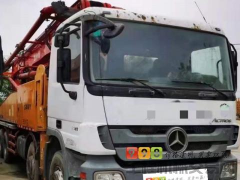 出售12年三一奔驰48米泵车(大排量六节臂)
