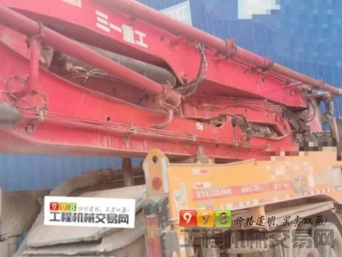极品出售13年三一奔驰49米泵车