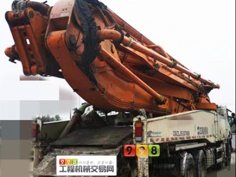 极品出售14年中联斯堪尼亚56米泵车