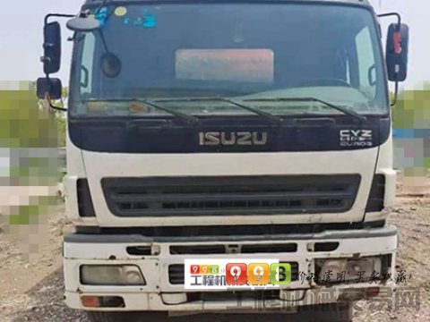 出售2010年11月出厂三一五十铃43米泵车(三桥叉腿大排量)