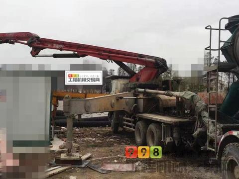 精品转让12年出厂三一日野46米泵车