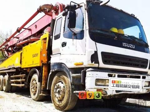 出售2009年三一五十铃46米泵车