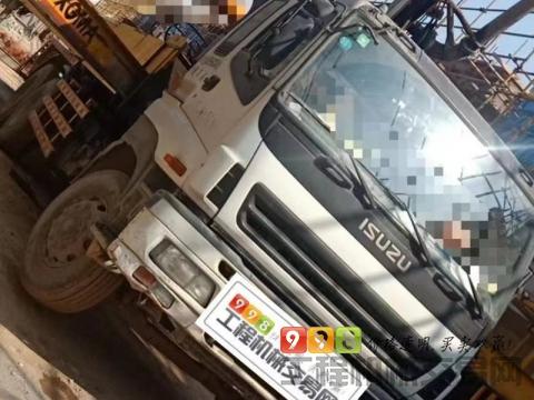 终端精品出售13年夏工五十铃37米泵车(三桥叉腿)