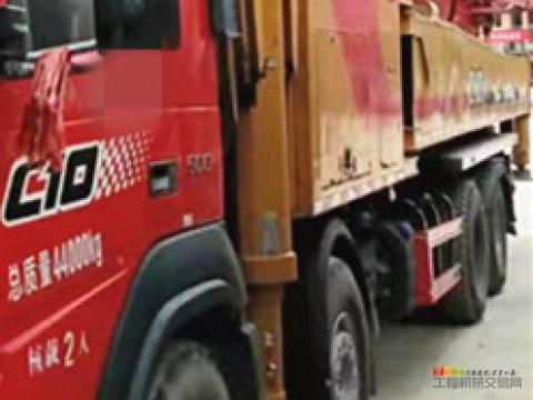 一手车转让19年出厂三一沃尔沃62米泵车(国五 6万方 可接着还款 )