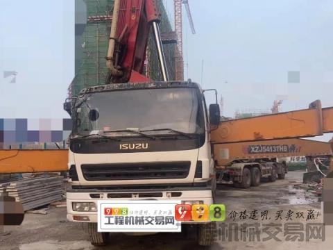 北方车转让13年徐工五十铃56米泵车(随时工地试泵)暂不出售
