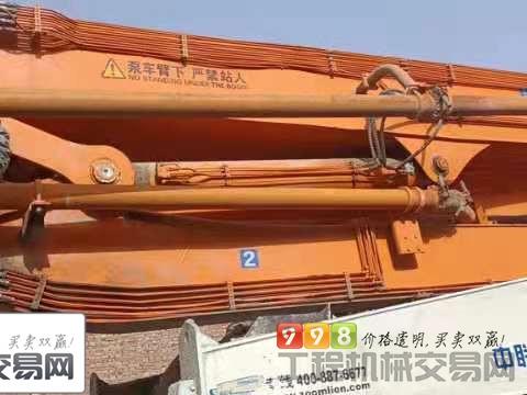 车主转让14年出厂中联奔驰52米泵车(6节臂 大排量 双油泵)