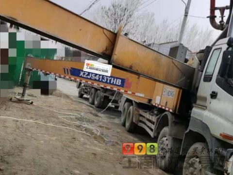 终端出售14年徐工五十铃52米泵车(2台)