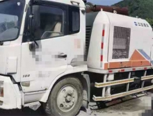 出售12年中联东风底盘9014车载泵