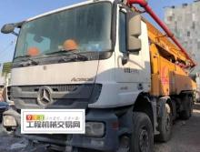 出售17年徐工奔驰56米泵车(国四)