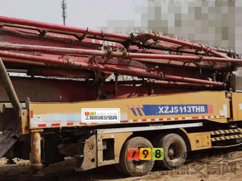 精品转让11年出厂徐工五十铃52米泵车(6节臂)