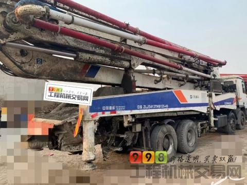 精品出售11年出厂中联奔驰50米泵车
