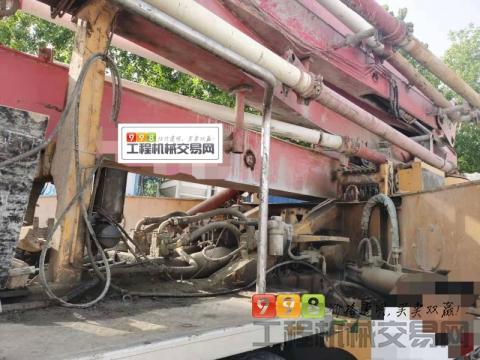 车主精品出售10年出厂徐工日野48米泵车