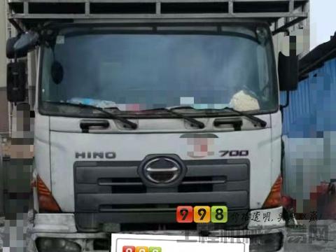 出售11年中联日野38米泵车(三桥叉腿)