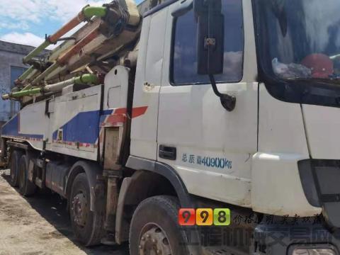 转让2012年中联奔驰52米泵车