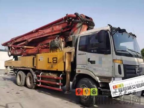 出售13年福田3桥47米泵车