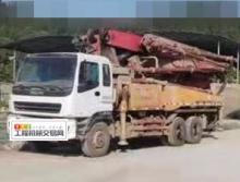 终端干活10年出厂三一五十铃40米泵车(急售)