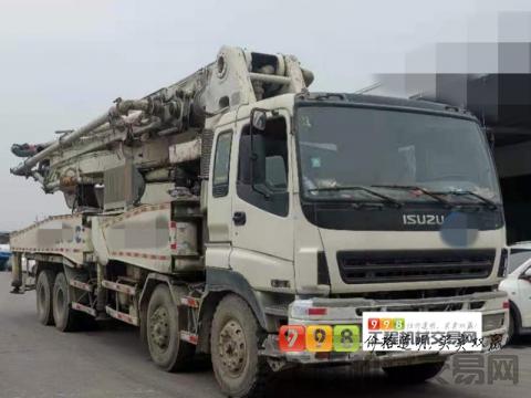 出售2009年中联五十铃46米泵车