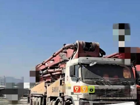 精品出售09年三一沃尔沃56米泵车