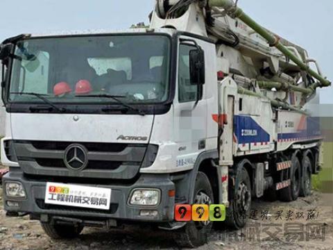 精品转让13年中联奔驰46米泵车(极品 16万方)