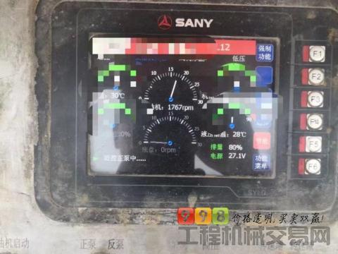 出售国四2014年12月三一自制9018(道依茨发动机)