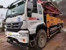 终端转让2018年响箭斯太尔37米泵车(国五)