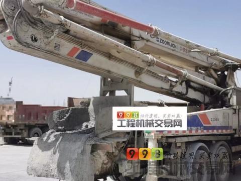 出售2011年7月出厂中联日野叉腿38米