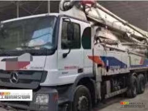 终端一手售2011年出厂中联奔驰47米(正宗西北车.看着都养眼)