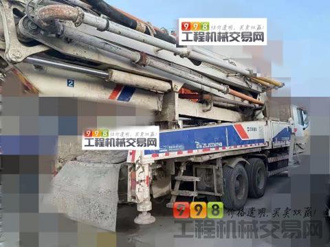 极品西北车转让14年中联奔驰47米泵车(实表16万方 极品)