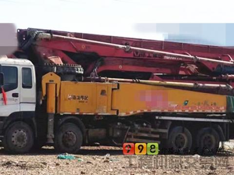 精品出售14年徐工五十铃56米泵车(K系开式系统 7节臂)