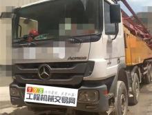 车主精品转让14年徐工奔驰53米泵车(开式系统 7节臂)