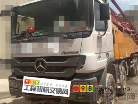 车主精品转让14年徐工奔驰53米泵车(开式系统 7节臂)暂不出售