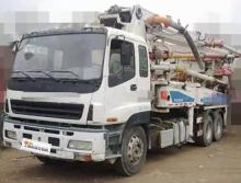 出售10年中联五十铃38米泵车